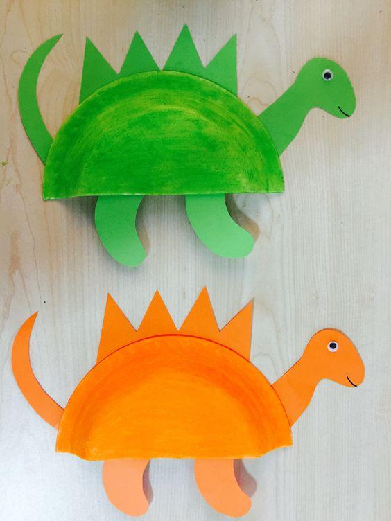 animale din farfurii de carton