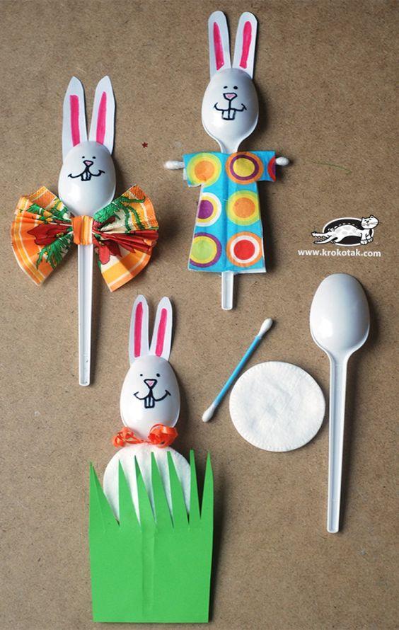 art&craft de Paște- iepurași