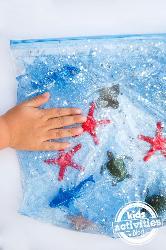 punguțe senzoriale animale marine