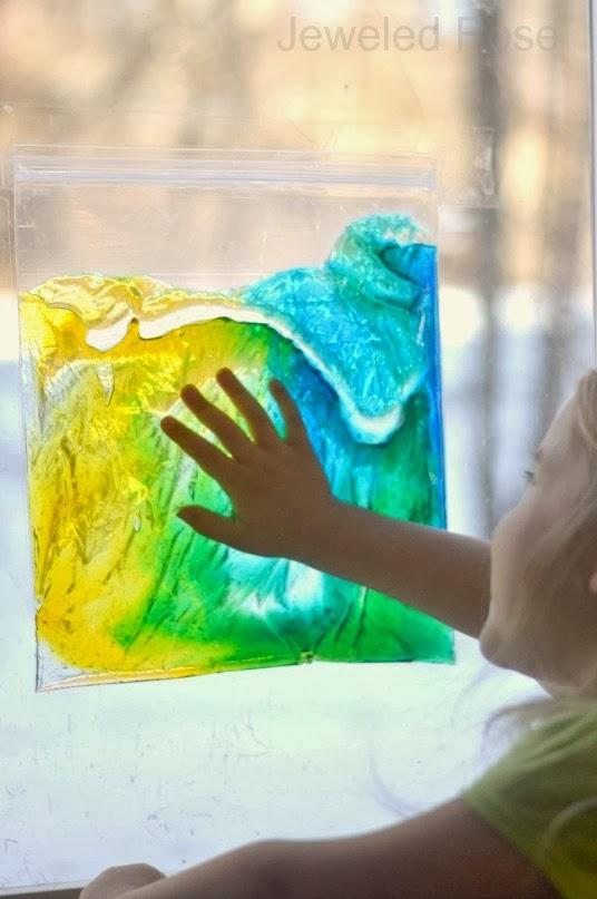 punguțe senzoriale cu culori