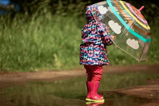 Cele mai amuzante jocuri în ploaie