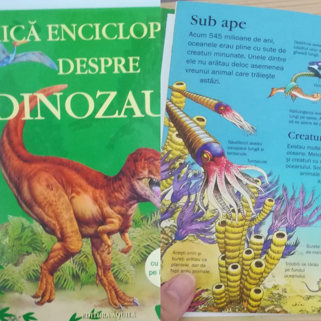 5 carti despre dinozauri