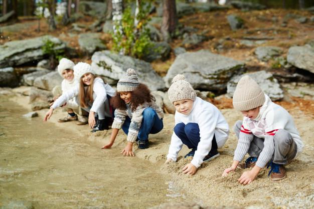 3 activități mindfulness pentru copii