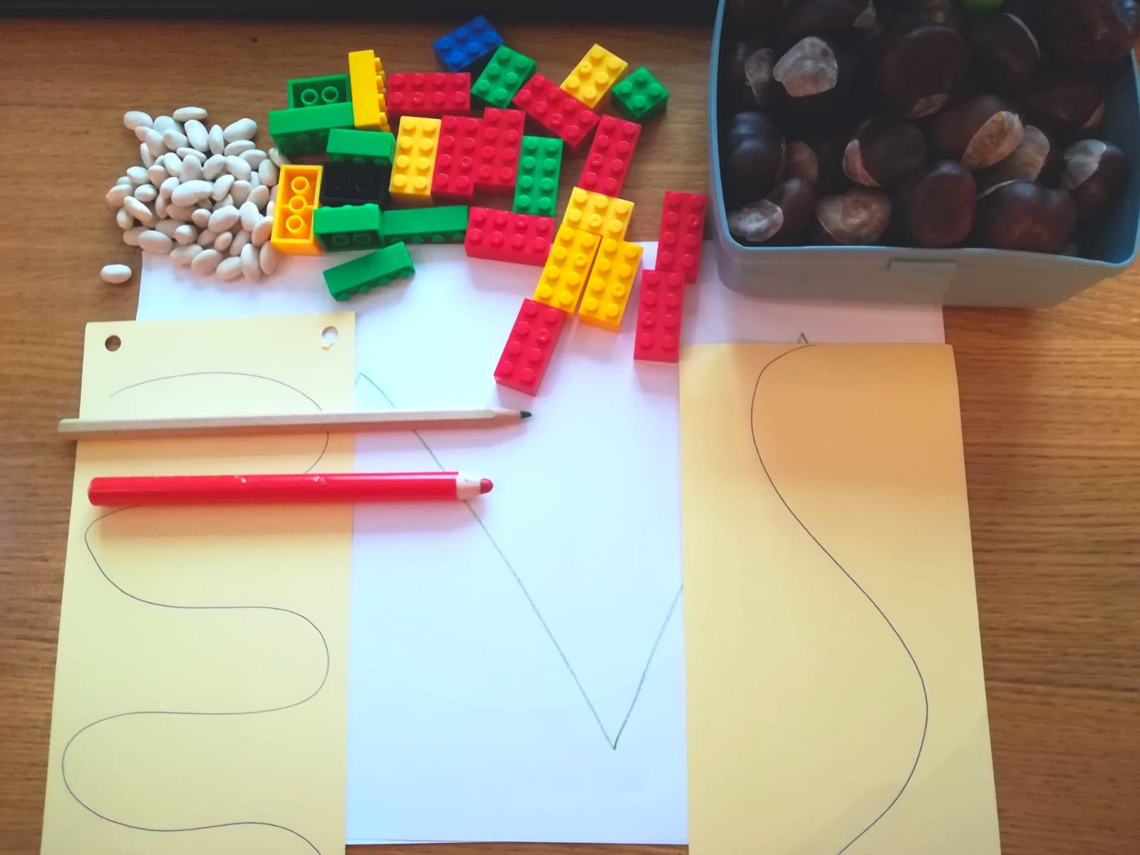 """Învățăm să scriem: activități  """"jucăușe"""" care îl pregătesc pentru scris"""
