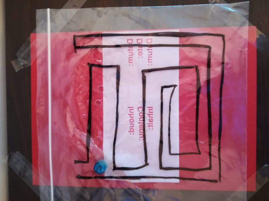labirint senzorial
