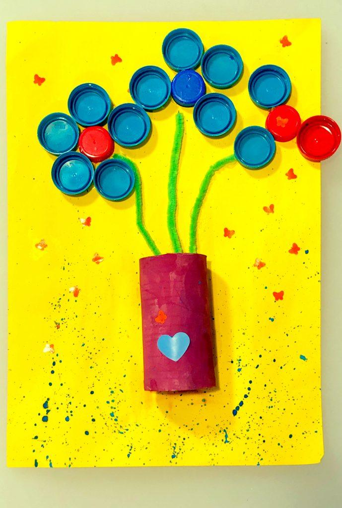 art&craft din materiale reciclabile