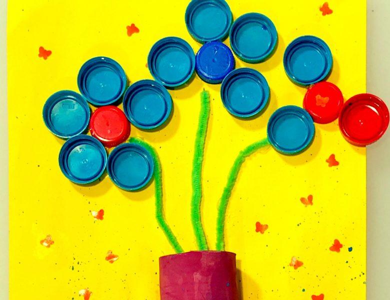 Jocuri și activități în casă. Ziua 8 – Art&craft din materiale reciclabile