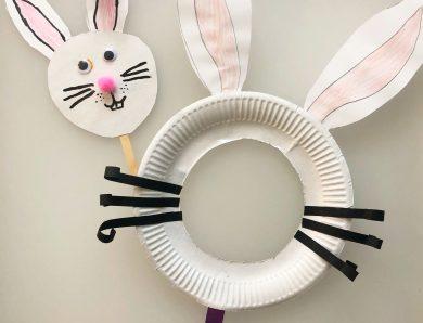 Măști de iepuraș – art&craft de Paști