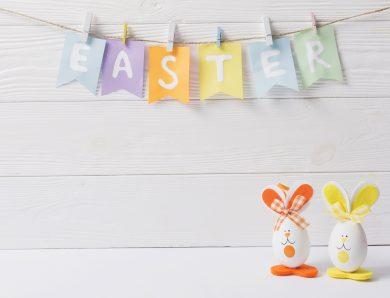 Decorațiuni pentru masa de Paști, ușor de făcut de copii