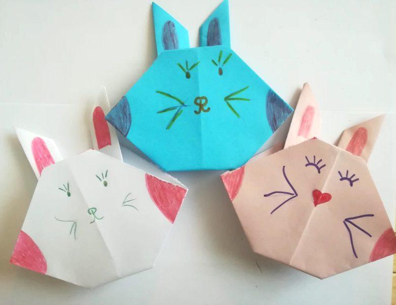 Cum să faci iepurași din hârtie