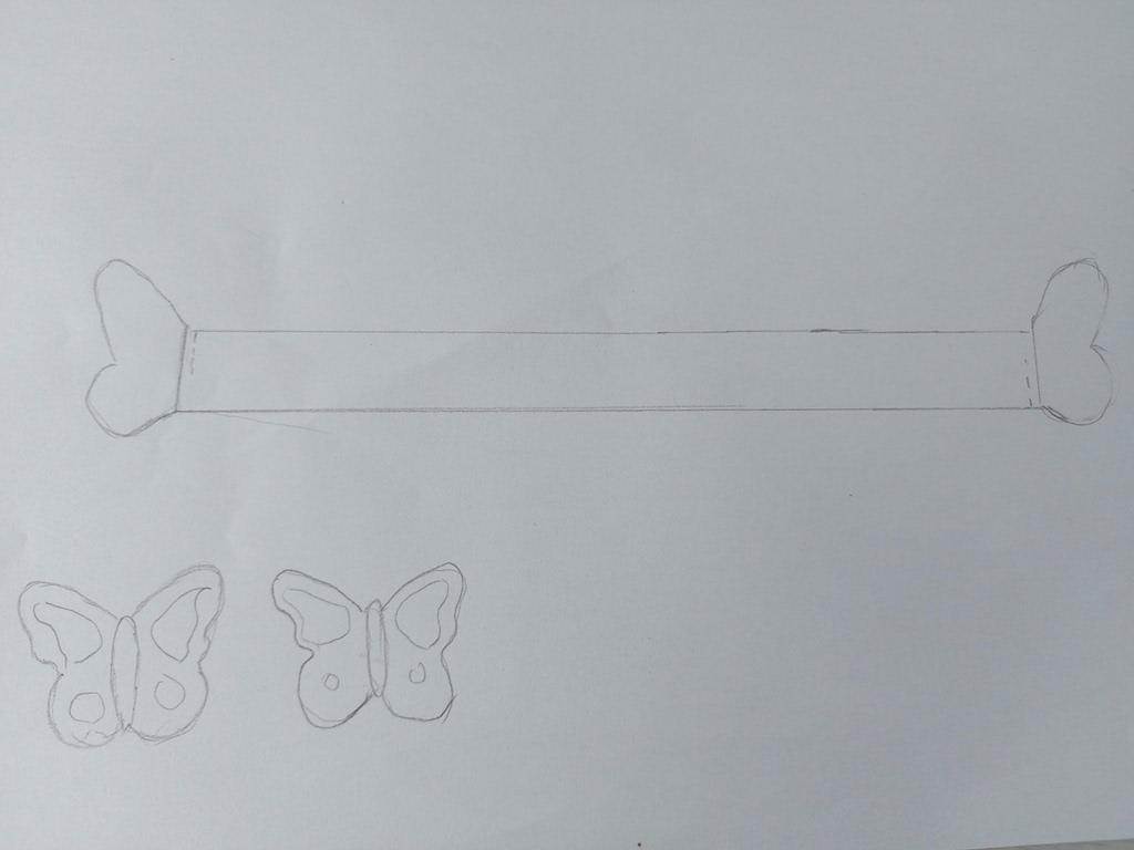 brățări din hârtie