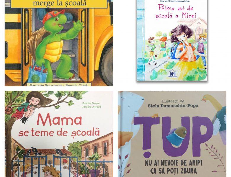 5 cărți care-l pregătesc pe copil pentru începerea școlii