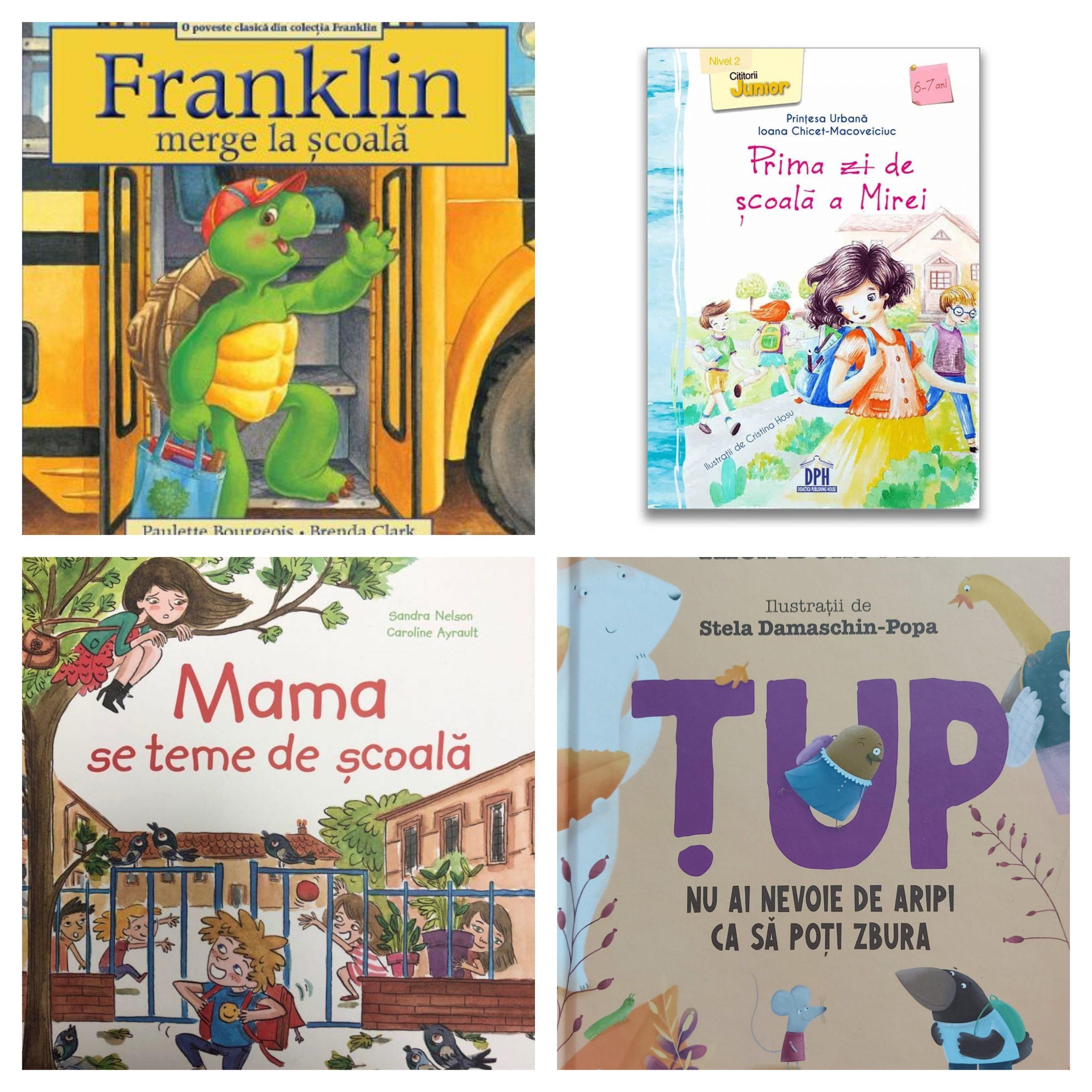 carti pentru inceperea scolii